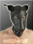 Lederimitat Dog Maske
