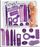 Love Toys Set So Cute lila