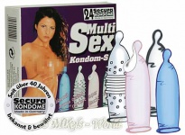 Secura Kondom-Set Multi-Sex 24er Mix
