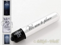 Fifty Shades of Grey - Vibrator We Aim to Please schwarz-silber