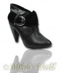 Trendy Ankle Boots Rebecca schwarz