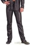 Ledapol - Herren Leder Hose im 5-Pocket Jeans Stil