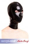 Anita Berg - Latex Kopfmaske mit Augen-Öffnungen