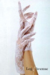 Leg Avenue - Kurze Spitzen Stretch Handschuhe in diversen Farben