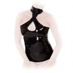 Anita Berg - Latex Neckholder Shirt / Top mit Halsband