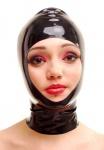 Anita Berg - Hautenge Latex Zip - Kopfmaske