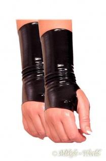 Insistline - Kurze Datex Handschuhe mit Daumenschlaufe