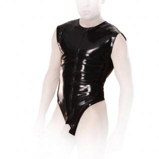 Insistline - Rassiger Herren Gay Datex Body ouvert mit Zip