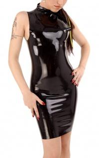 Anita Berg - Rassiges Latex Zip-Mini-Kleid