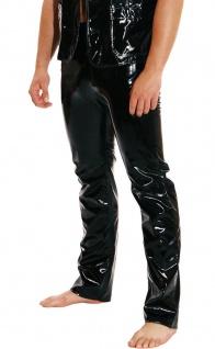 Ledapol - Glänzende Herren Gay Lack Hose im Jeans Stil
