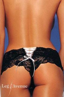 Leg Avenue - Erotische zarte Spitzen Pants in diversen Farben
