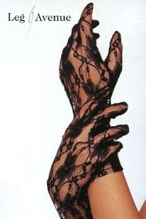 Leg Avenue - Elegante kurze Spitzen Handschuhe in diversen Farben - Vorschau