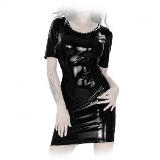 Insistline - Datex Kurzarm Nieten Minikleid mit Zip