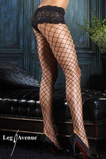 Leg Avenue - Netz Strumpfhose mit Panty in diversen Farben