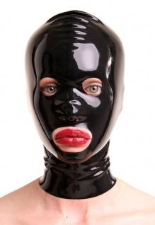 Anita Berg - Latex Maske mit runden Öffnungen
