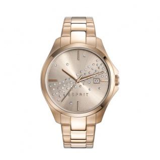 ESPRIT Armbanduhr Rosegold Datum ES108432003