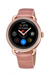 Festina Damen Smart Watch roségoldfarben mit Steinbesatz F50002-2