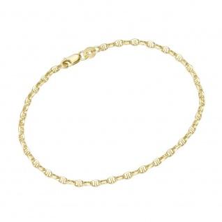 Steganker- Armband 585/- Gelbgold 92016350190