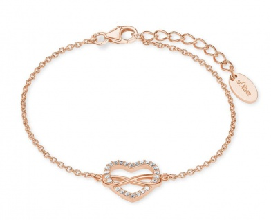 S.Oliver Silber Armband Herz Infinity 2020990