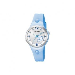 Calypso Armbanduhr hellblau K5746/4