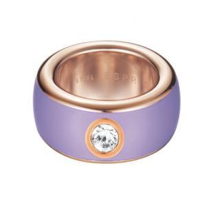 ESPRIT Ring Fancy Lavendel ESRG12194N Rosegold