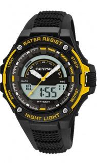 Calypso Herren Armbanduhr schwarz K5768_4