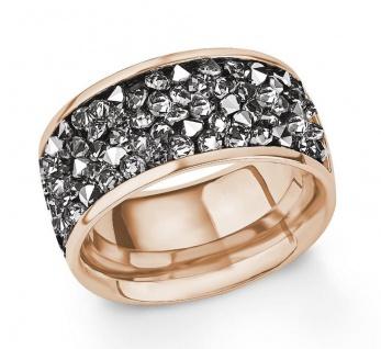 S.Oliver Edelstahl Ring mit Swarovski Elements 2015145
