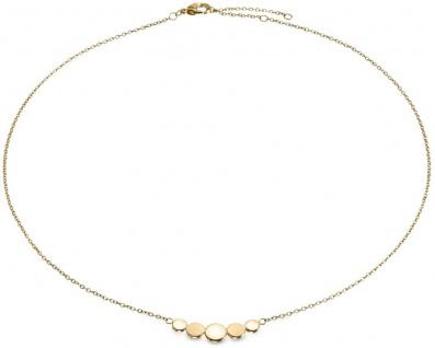 Boccia Titan Damen Halskette goldplattiert 08031-02