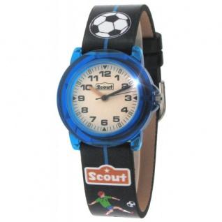 Scout Kinderuhr Crystal Fußball 280305000