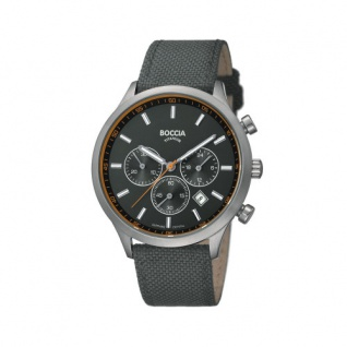 Boccia Chronograph Titan 3750-01
