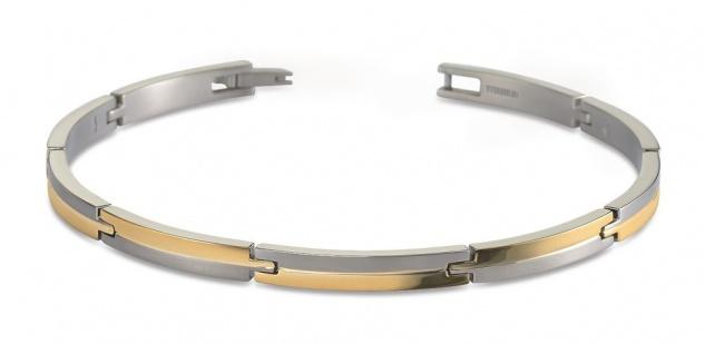 Boccia Titan Armband bicolor 03018-02