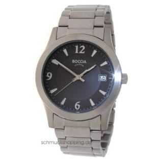 Boccia Herren Titan Uhr 3550-02