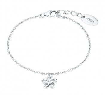 S.Oliver SilberArmband Blume 2027456