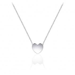 Halskette Herz 925 Silber GISSER_N1030