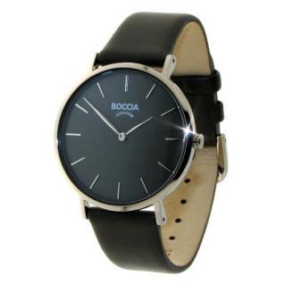 Boccia Damen Titan Uhr Lederband 3273-01