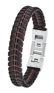 S.Oliver Herren Leder Armband 2027443