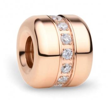 Bering Charm Edelstahl rosévergoldet Hope-1