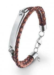 S.Oliver Herren Leder Armband 2020904