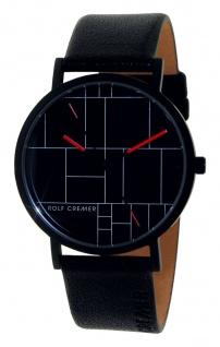Rolf Cremer Designuhr TWICE 506501 schwarz