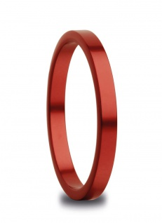 BERING Arctic Symphony Aluminium Ring rot 554-49-1