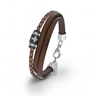 S.Oliver Herren Leder Armband 2012631