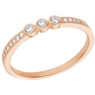 S.Oliver Silber Ring rosévergoldet 2026104
