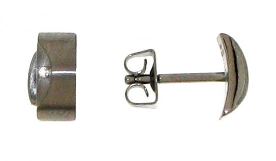 Boccia Titanohrstecker mit Brillant 5007-02