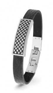 S.Oliver Herren Leder Armband 2022627