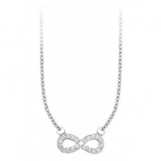 S.Oliver Silber Halskette Infinity 9057771