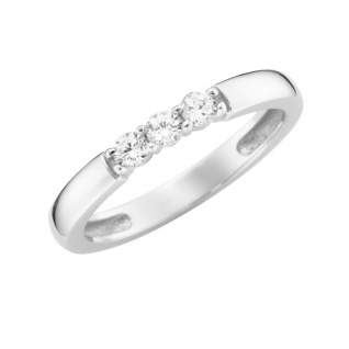 Ring 375/-Weißgold mit Zirkonia GG156-93011841000