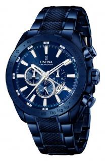 Festina Herren Chronograph blau f16887/1
