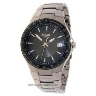 Boccia Herren Titan Uhr 3549-01 - Vorschau