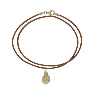 Halskette Ananas golden Kette 99031791450