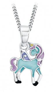 Prinzessin Lillifee Silberkette mit Einhorn-Anhänger Blue Silber 2013161